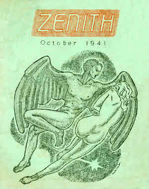Zenith #2 cover by Harry Turner